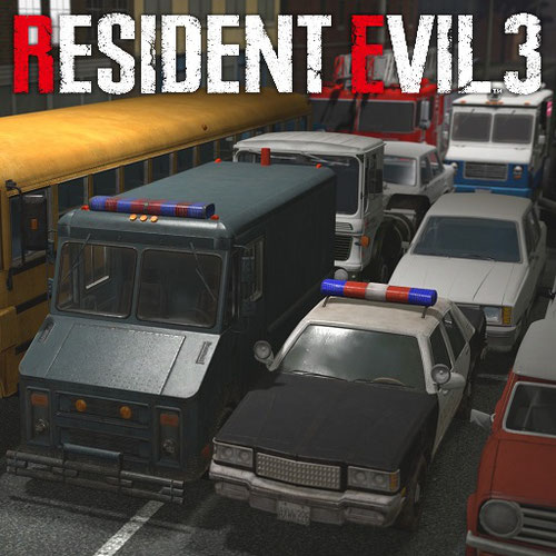 Thumbnail image for (8sianDude) RE3 Remake Vehicle Props Pack