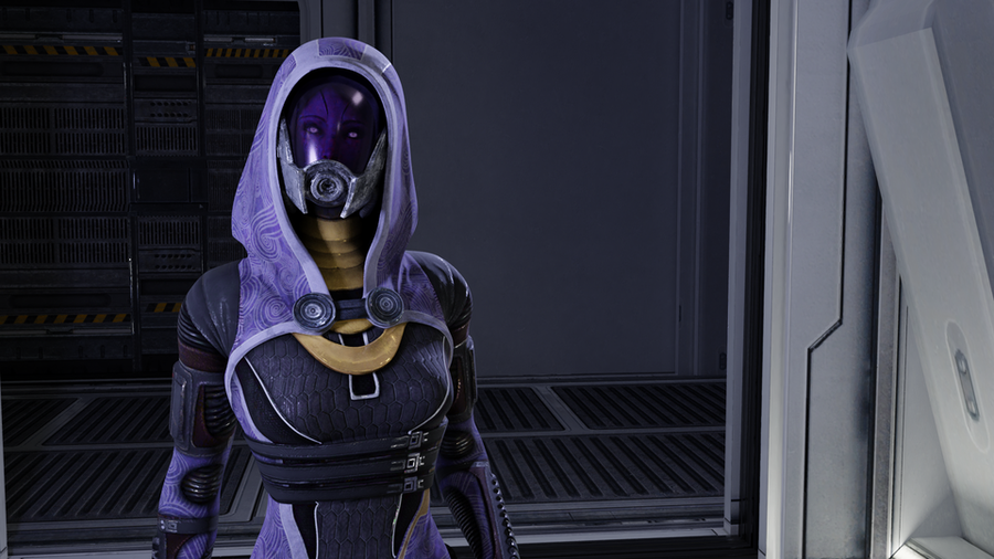 Tali'Zorah for Blender