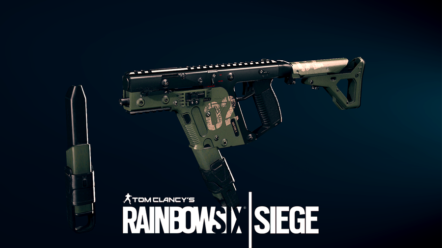 R6S - Vector .45 ACP - Mira's weapon