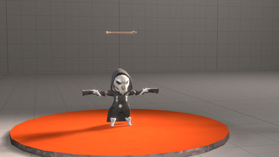 [Overwatch] Marioneta Reaper