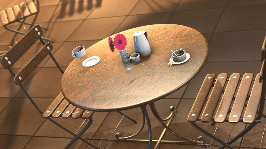 Barbell Cafe Set
