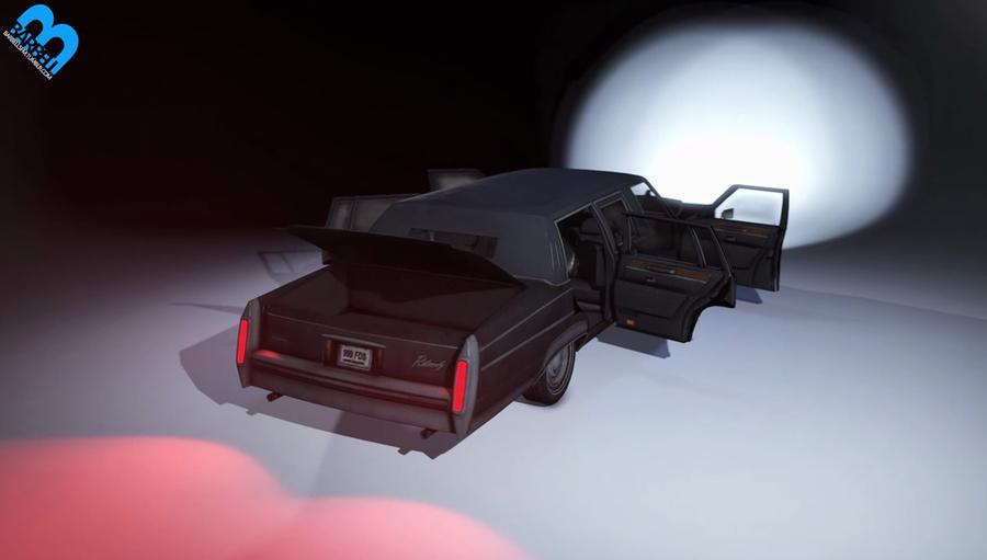 Model Release: Barbell Batman Limo v1