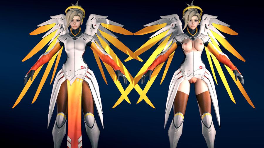 Lewd Mercy - Overwatch
