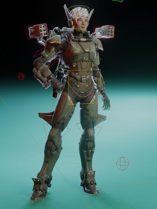 Apex Legends Valkyrie (Multi-Rig)