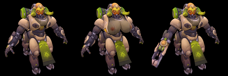 Orisa (Overwatch)