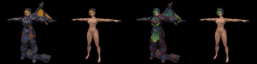 Ash (Paladins champions of realm)