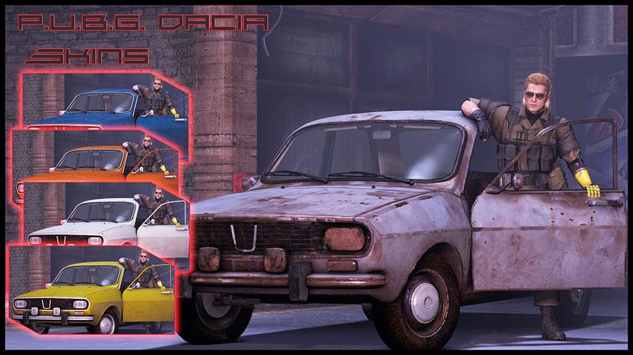 PUBG - Dacia car
