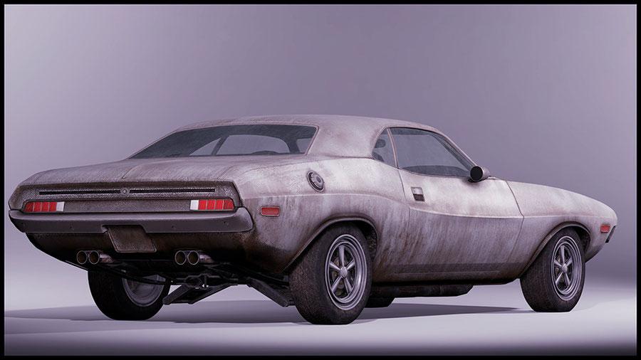 Resident Evil 7 - Ethan Dodge car