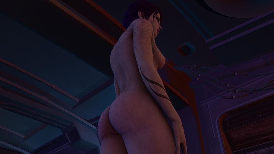 Tali'Zorah nude