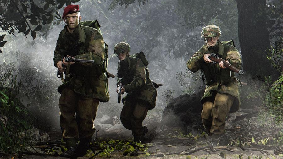 WW2 British Paratrooper
