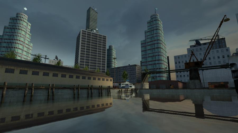 [SFM] New Heaven Docks [Update 1.1]