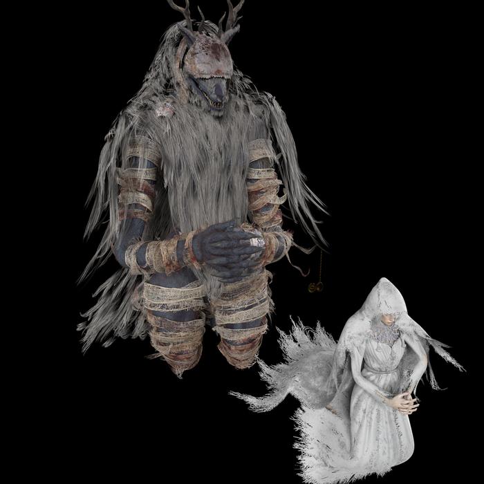 Vicar amelia bloodborne (beast version Funa/female+munan version)