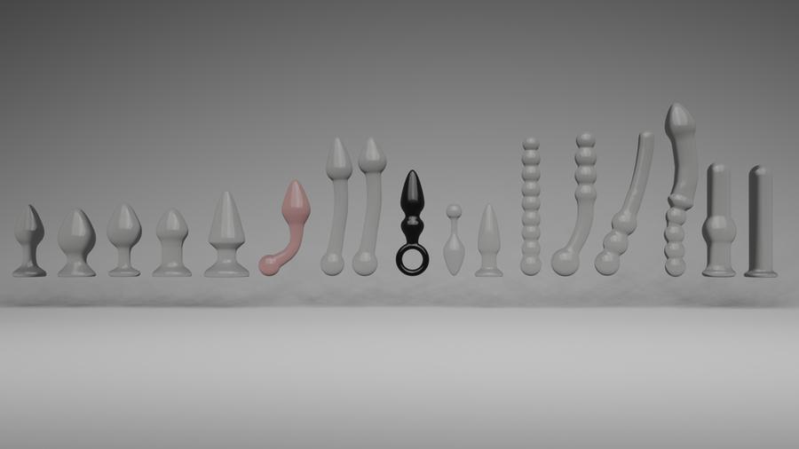 Glass sex toys