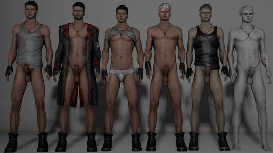 DmC Dante nude