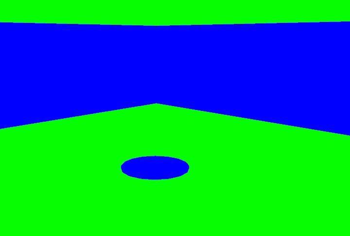 Green/Blue Screen Map