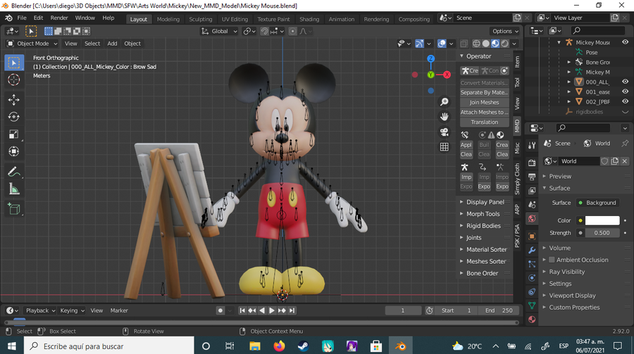 Mickey's Magical Arts World by Disney Imagicademy - Mickey Mouse
