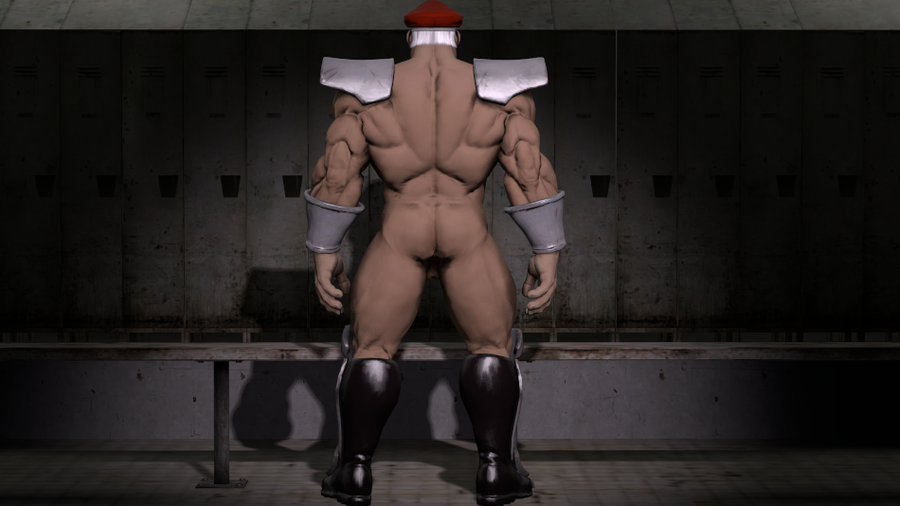 Nude M. Bison ( Street Fighter 5 )