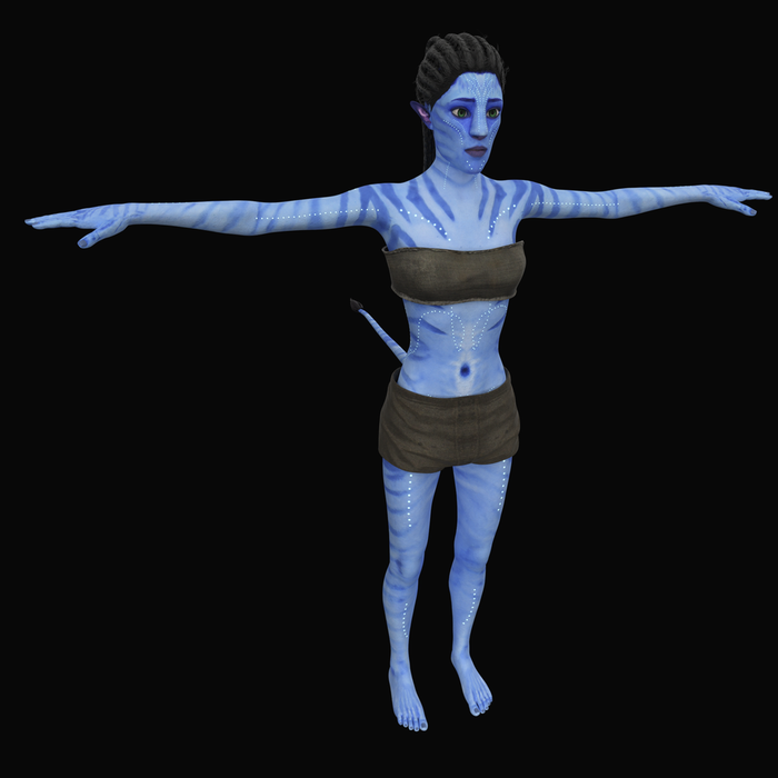 Male and female Avatar