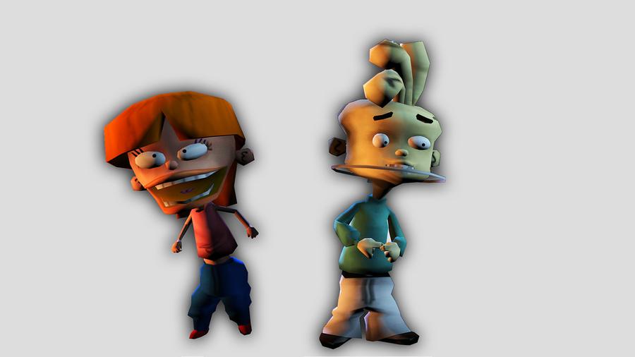 Ed, Edd n Eddy: Characters