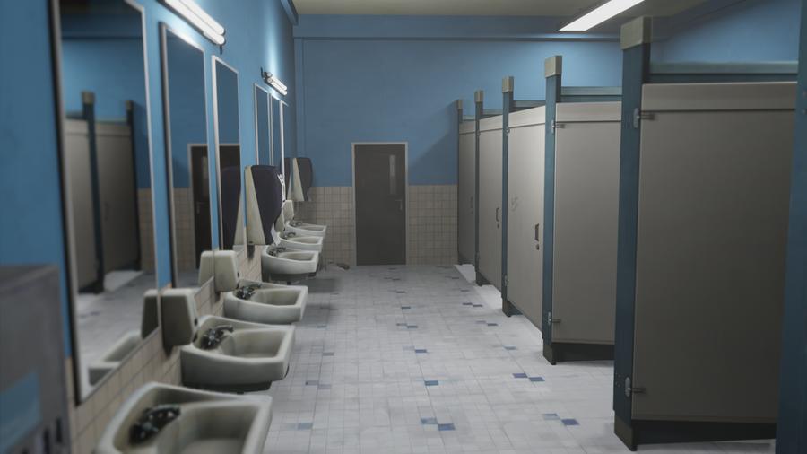 Life is strange - School bathroom