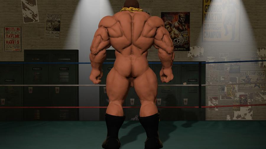 Nude Balrog ( Street fighter 5 )