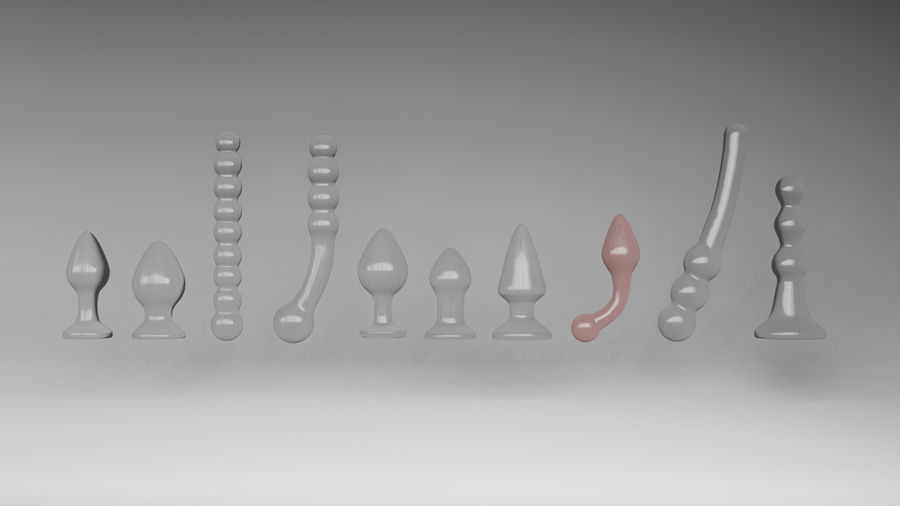 Sex toys collection