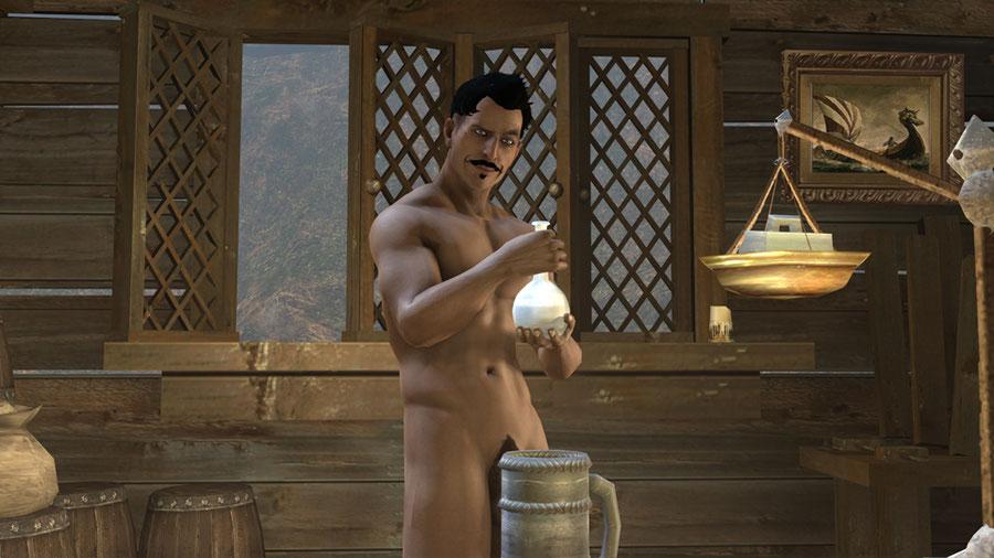 [Dragon Age Inquisition ] Dorian Pavus nude