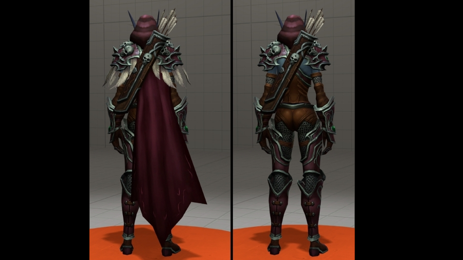 Sylvanas from Legion (+ Bow)