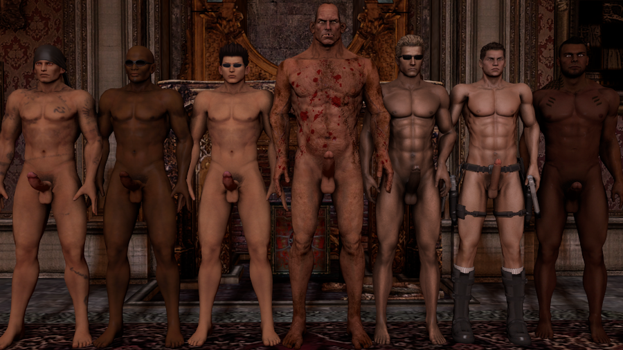 Improved nude male models and Hot Raider Piers Nivans