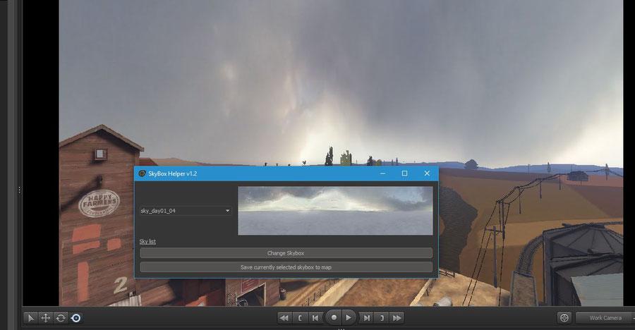 Skybox Helper script