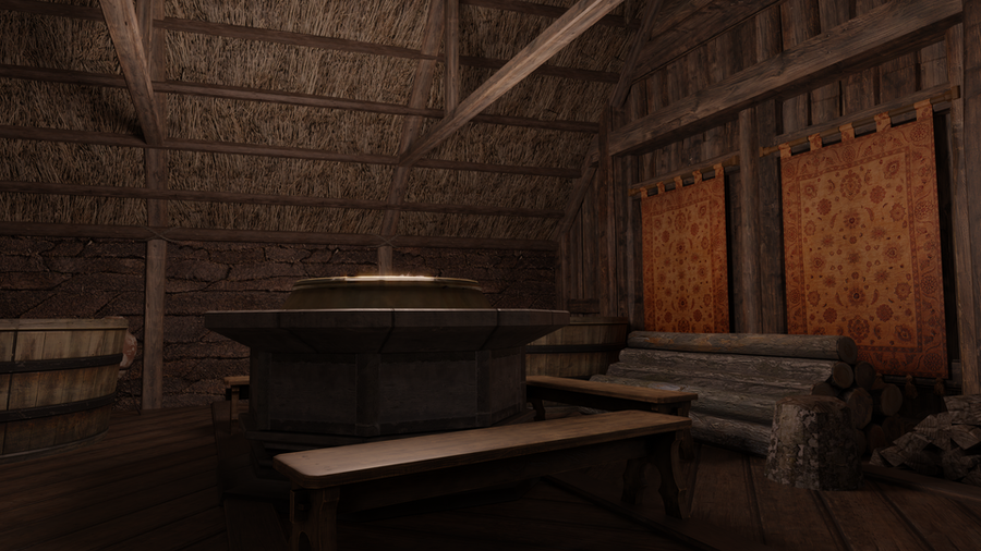 Witcher 3 Skellige Sauna