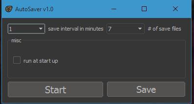 AutoSaver v1.0
