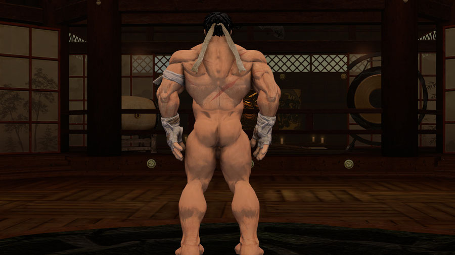 Nude Bearded Ryu