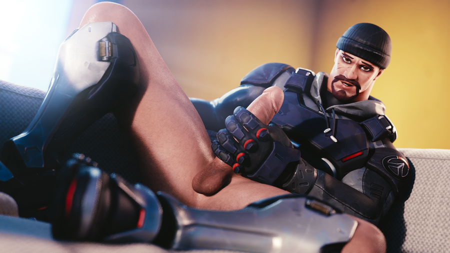 [Overwatch] Lewd Blackwatch Reyes for Blender