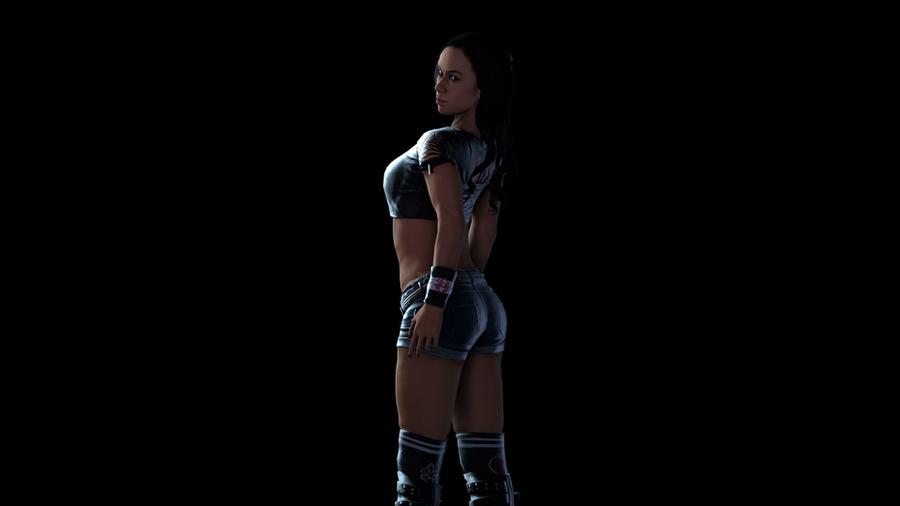 AJ Lee - WWE2K17