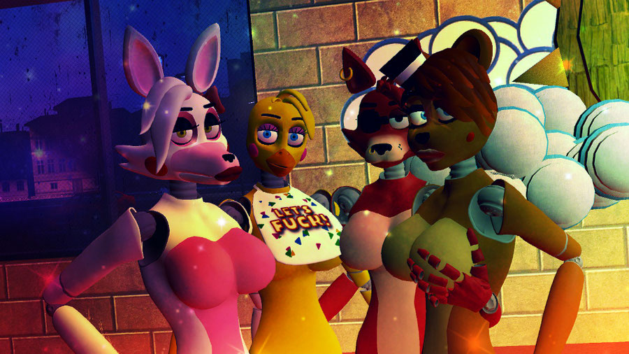 Five Nights At Freddy's (SEXY GIRLS) NO NUDE For You Tube!