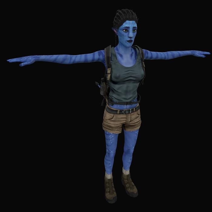 Male and female Avatar