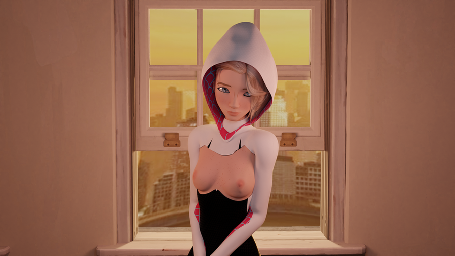 Gwen Stacy | Spider-Man: Into the Spider-Verse | Memz