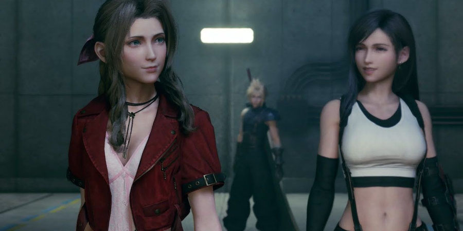 Final Fantasy 7 Remake Tifa & Aerith Voice packs [JP/ENG]