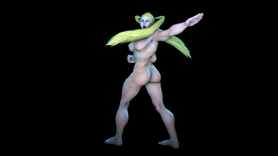 Rainbow Mika (Street Fighter V) *2017*