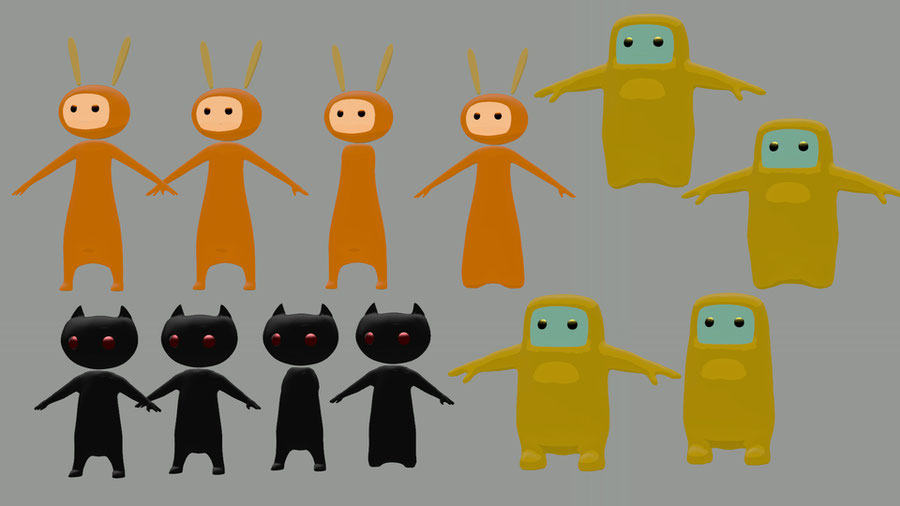 Steam Mascots