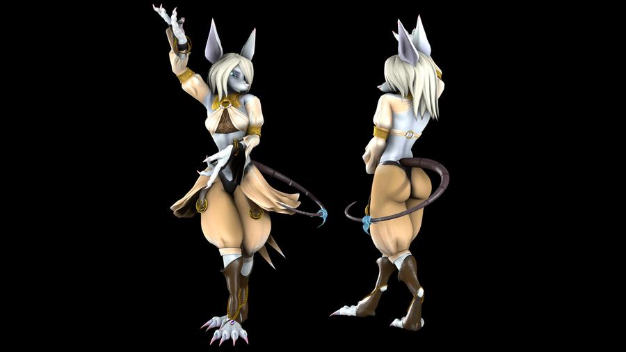 Freya Crescent Rigged [FFIX]