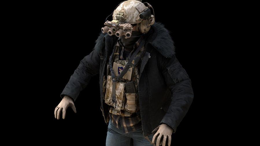 Resident Evil Village - Wolf Hound Operators