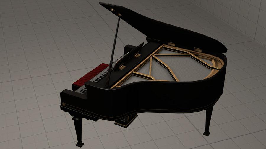 Grand piano [Battle Carnival]