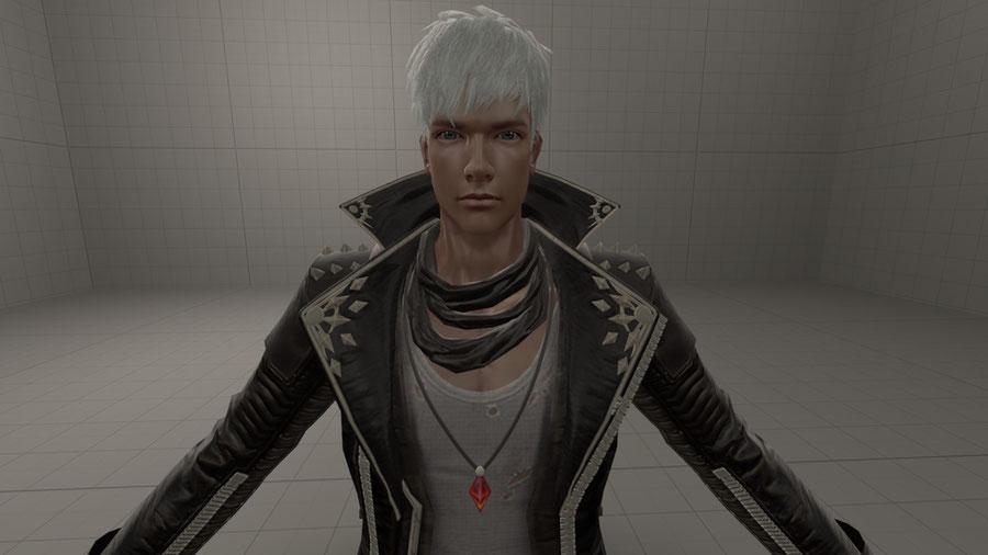 Dante Black Coat (DMC Pinnacle of Combat)