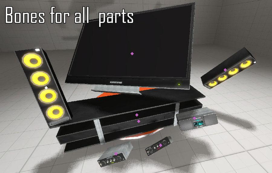 GTA5 apartament TV