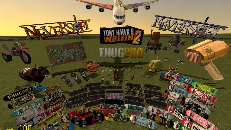 Tony Hawk Underground 2 MegaPack
