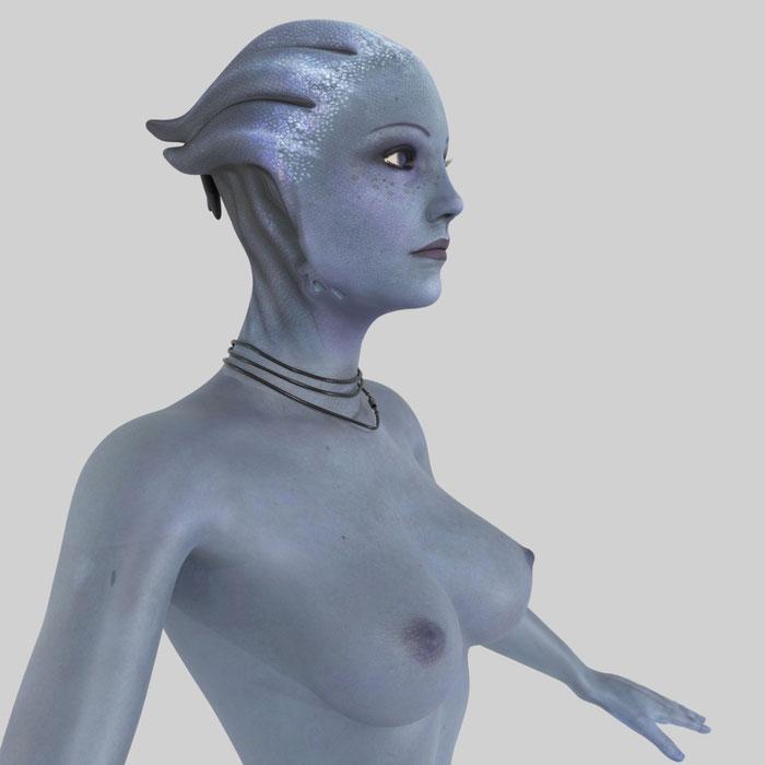 Liara T'Soni - Mass Effect 3 (Blender)