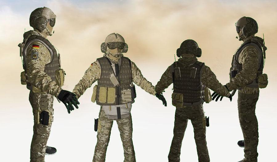 Rainbow Six:Siege-Jäger pack