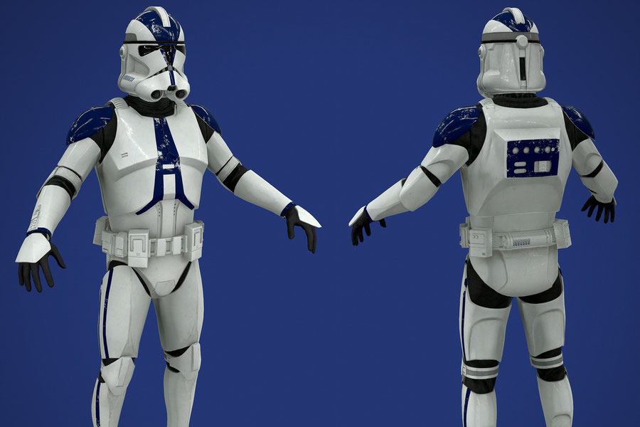 Star Wars: Clone Trooper Regimental Pack V2
